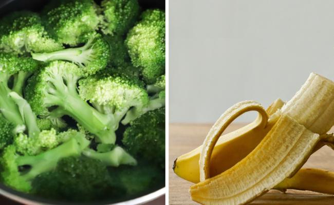brocolis banane menu DME